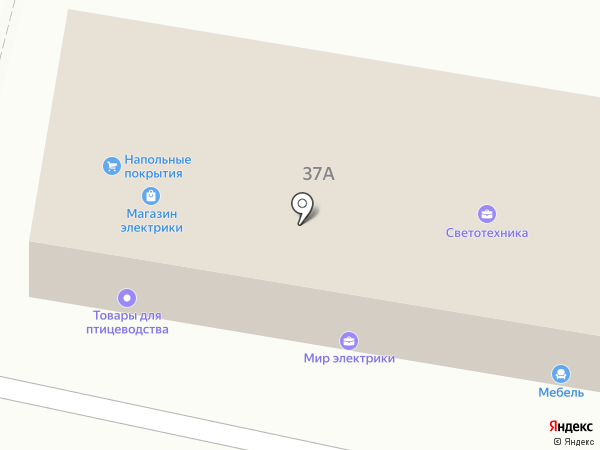 Магазин сантехники на карте Щёкино