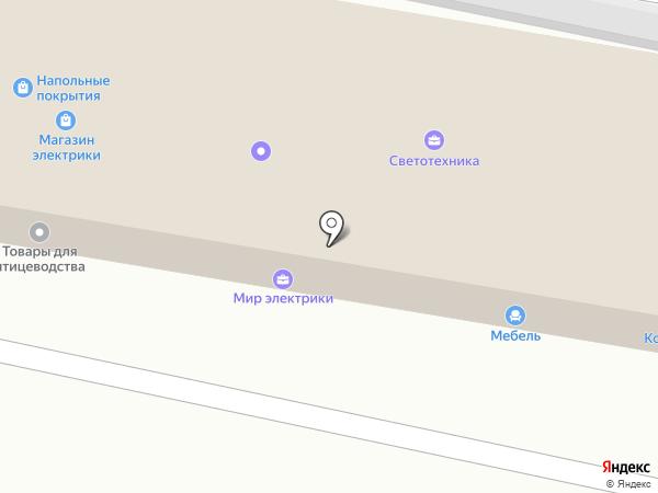 Континент на карте Щёкино