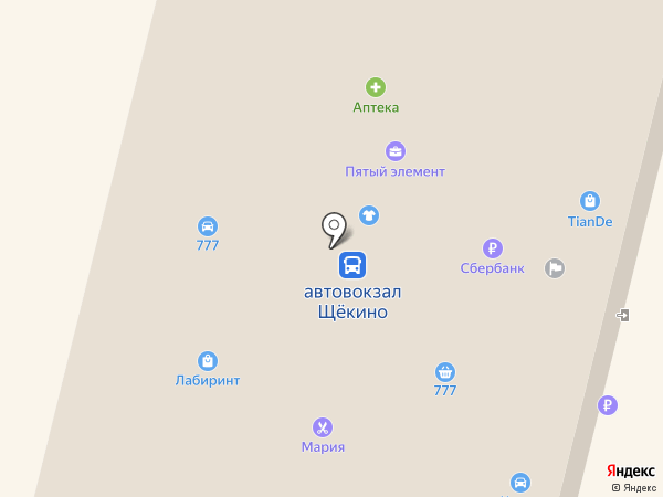 Аптека на карте Щёкино