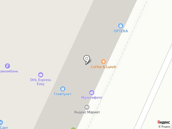 Оптика на карте Москвы
