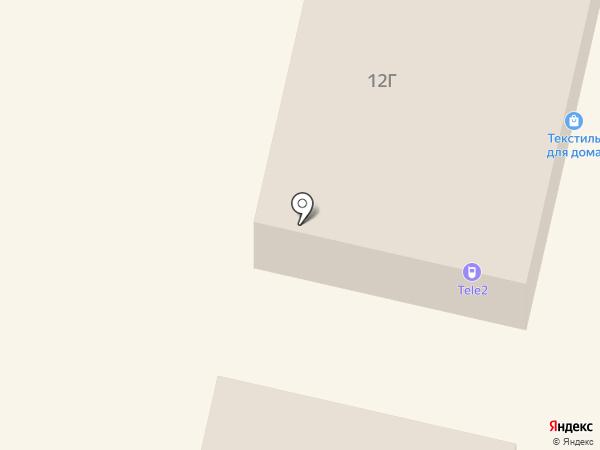 ТриА на карте Щёкино