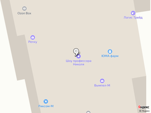 ИНПЛАСТ на карте Долгопрудного
