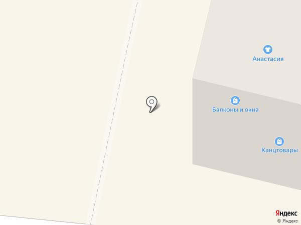 Анастасия на карте Щёкино
