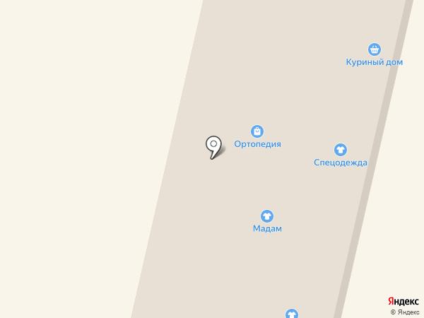 Айкрафт на карте Щёкино