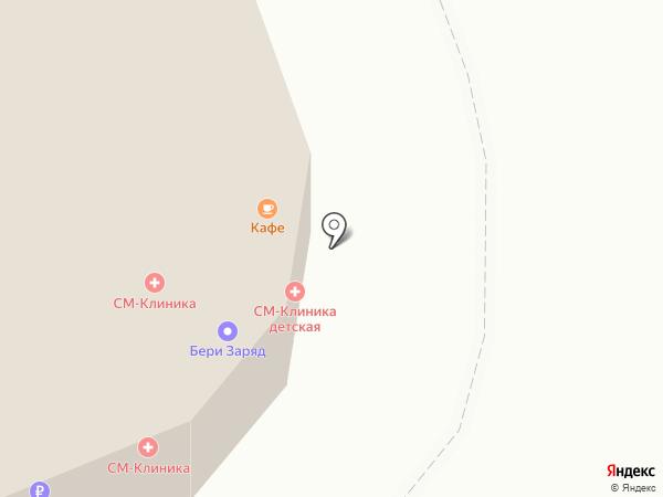 СМ-Пластика на карте Москвы