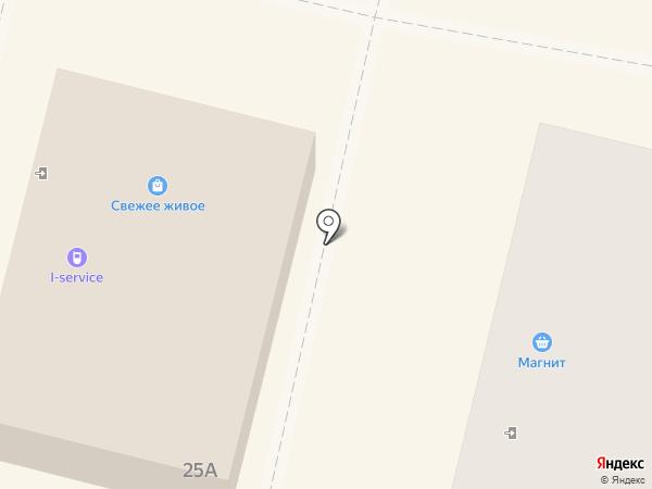 Киберплат на карте Щёкино