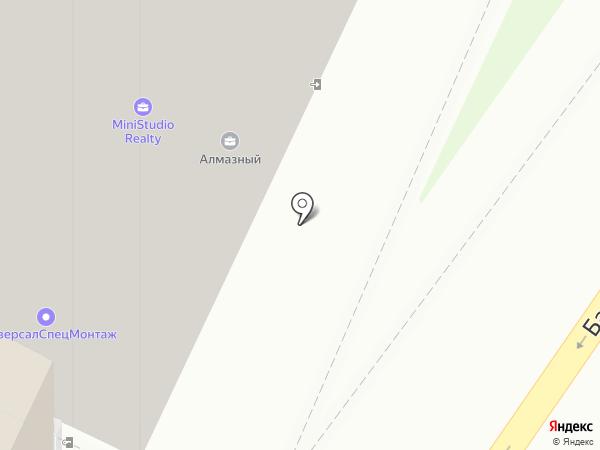 Пушистый Хвост на карте Москвы