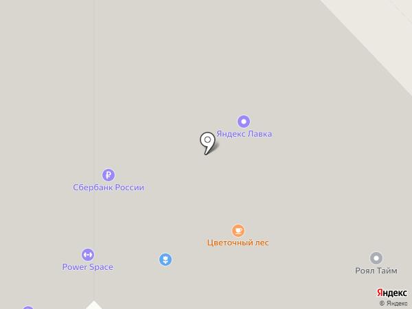 AirFit на карте Москвы