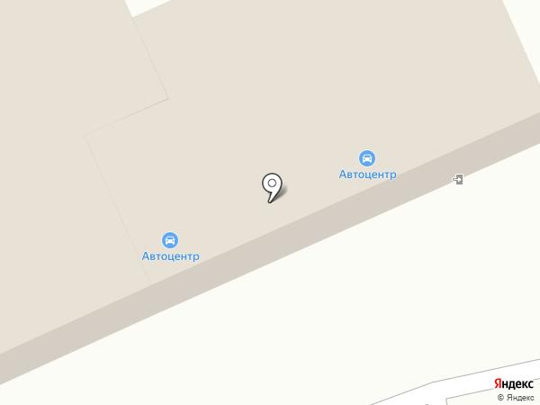 Магазин автотоваров на карте Щёкино