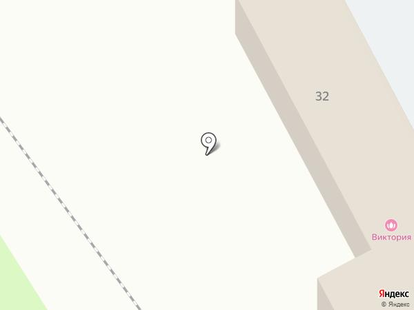 Юкон на карте Щёкино