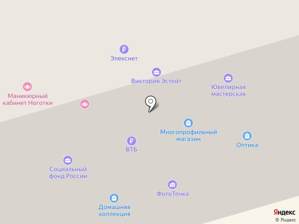 Антре на карте Долгопрудного