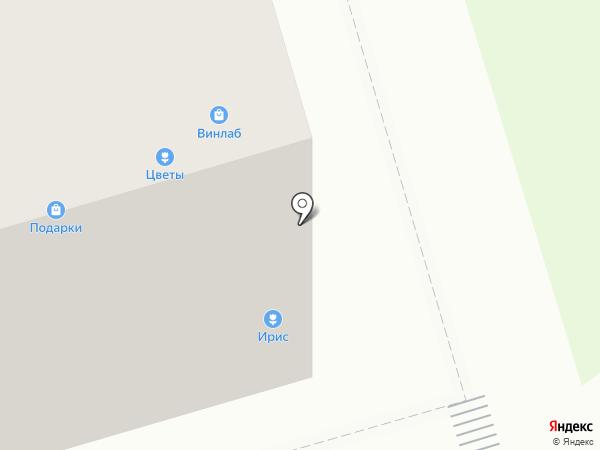 Ирис Кофе на карте Москвы