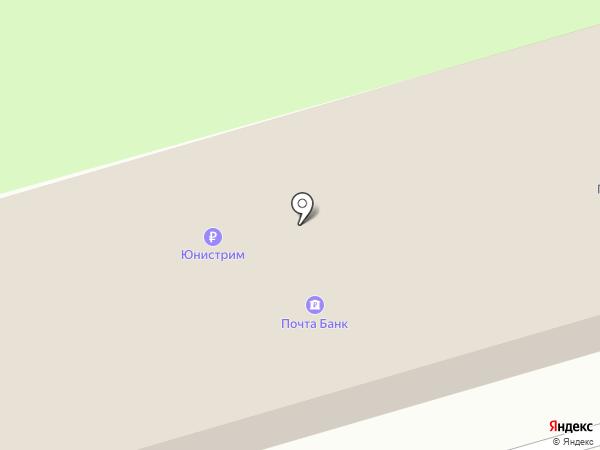 Почтовое отделение №141704 на карте Долгопрудного