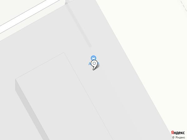 Москва на карте Москвы