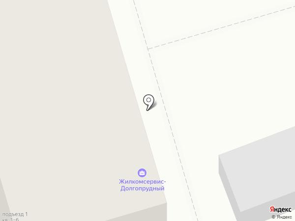 Участковый пункт полиции на карте Долгопрудного