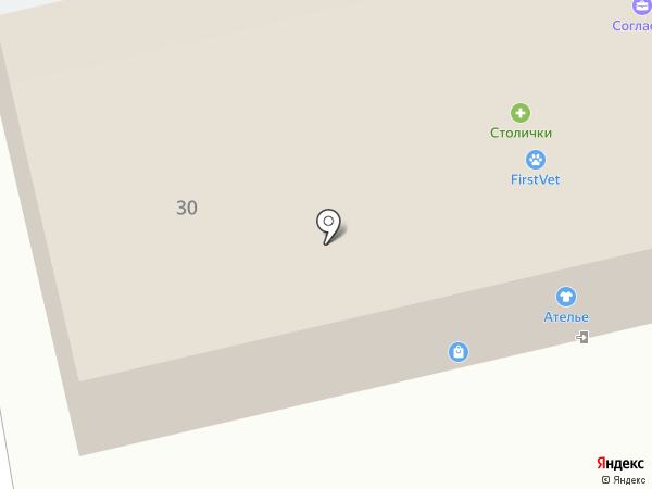 Петро-Дез на карте Щёкино