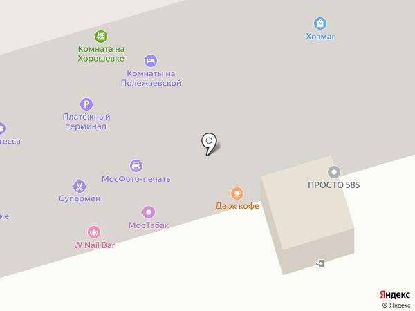 Магазин белорусских продуктов на карте Москвы