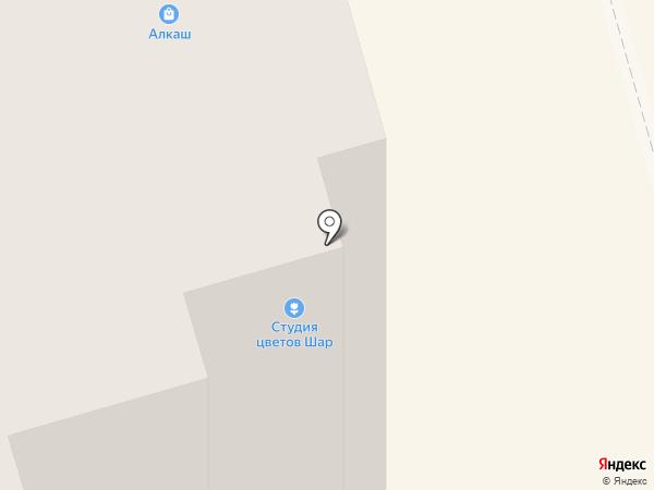 Русь на карте Долгопрудного