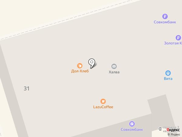 Стройлавка на карте Долгопрудного