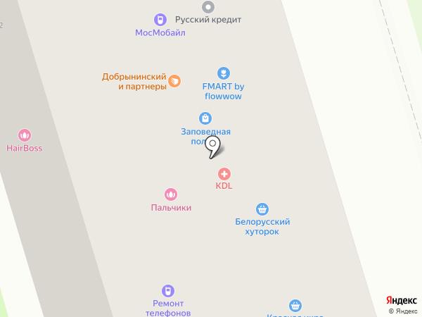 ММпринт на карте Москвы