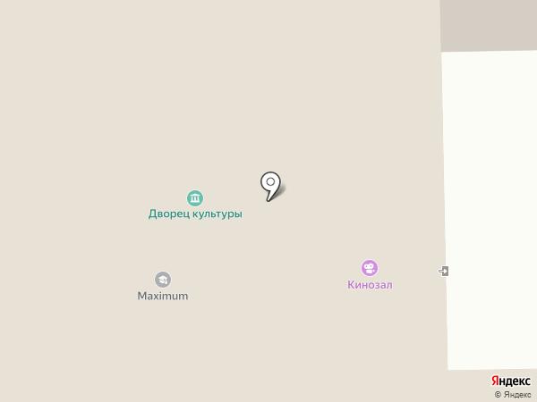 Дворец культуры на карте Щёкино