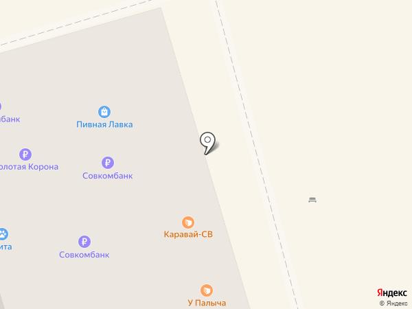 Сырник на карте Долгопрудного