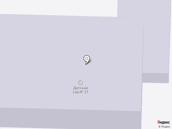 Детский сад №27 на карте Щёкино