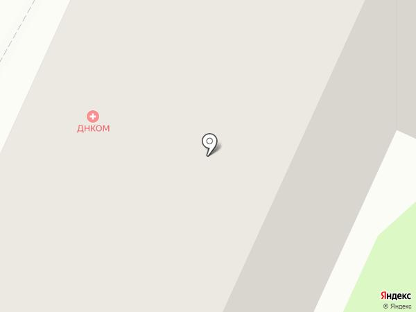 Пани Моника на карте Москвы