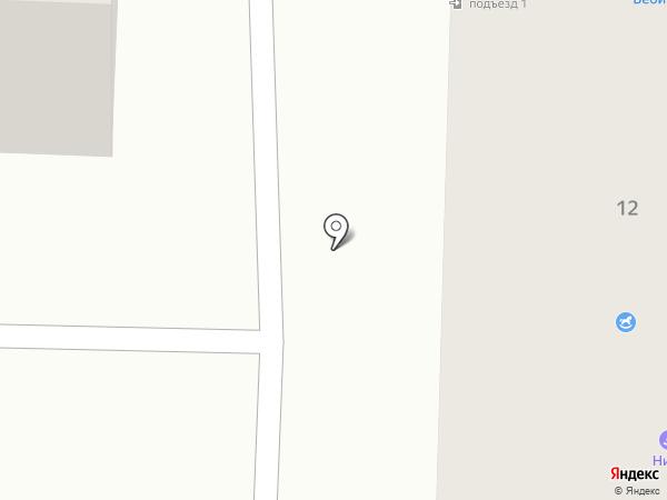 Мегабайт на карте Щёкино