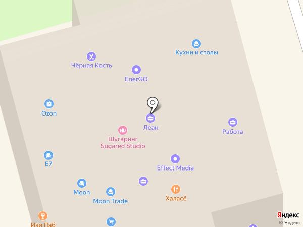 РИКСОМ-М на карте Долгопрудного