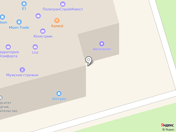 Цвет Диванов на карте Долгопрудного