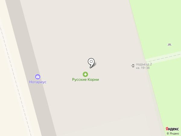 Людмила на карте Долгопрудного