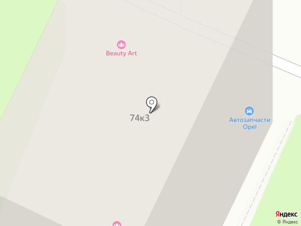 Мираколо на карте Москвы