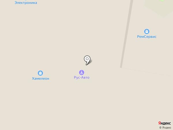 ХАМЕЛЕОН на карте Климовска