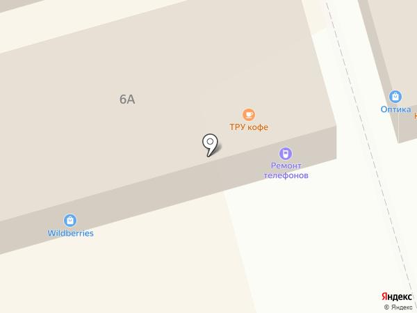 Магазин мебели на карте Долгопрудного