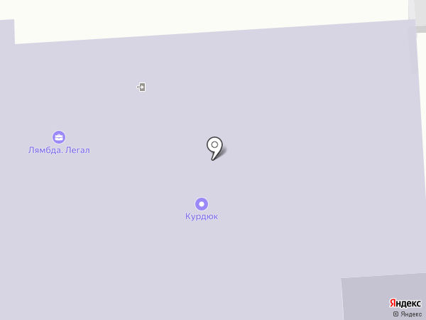 Лямбда легал на карте Москвы