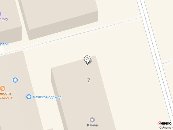 Магазин обуви и кожгалантереи на карте Долгопрудного