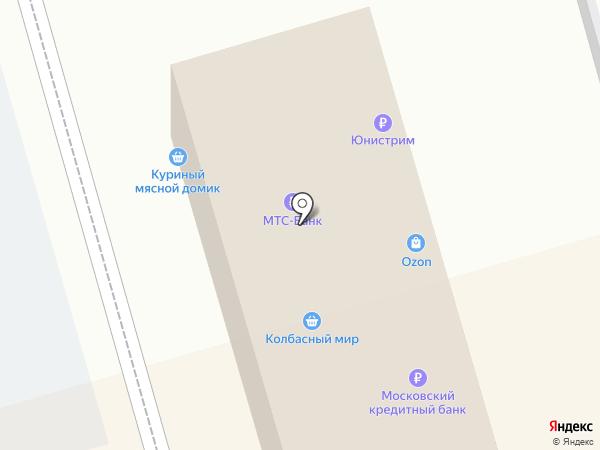 Связной на карте Долгопрудного