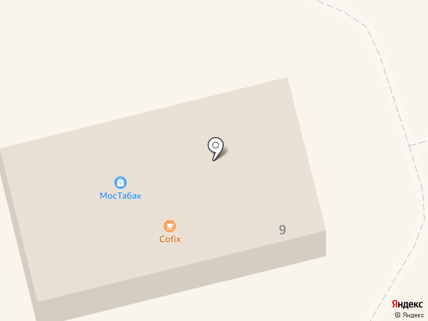 Магазин разливного пива на карте Долгопрудного