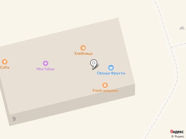 Кристалл на карте Долгопрудного