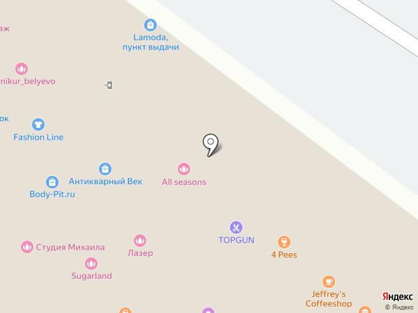 DPD на карте Москвы