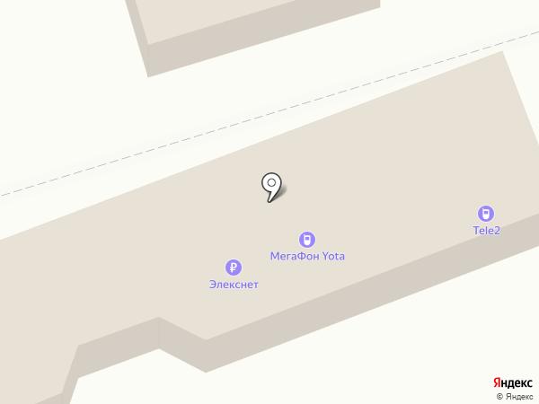 МегаФон на карте Долгопрудного