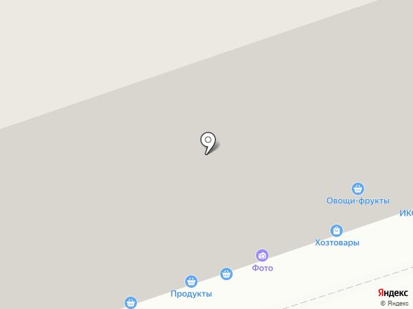 Мозайка на карте Москвы