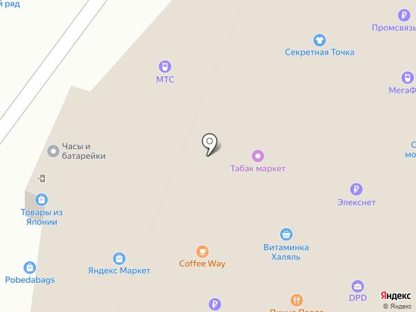 Много Мебели на карте Москвы