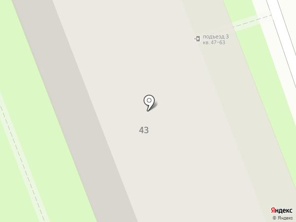 Отдел экологического контроля Центрального административного округа на карте Москвы