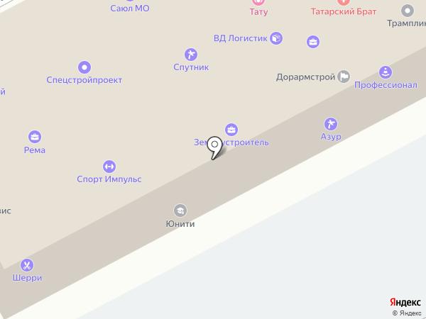 Профессионал на карте Подольска