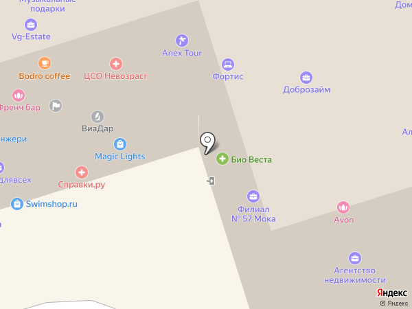 Гард-Детектив на карте Москвы