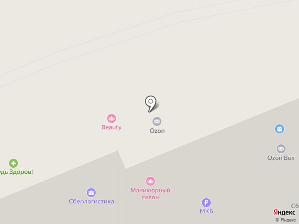 Хеликс на карте Москвы