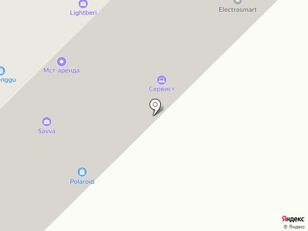 Luxvelo на карте Москвы