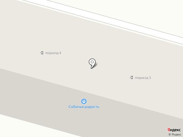Собачья радость на карте Красногоровки
